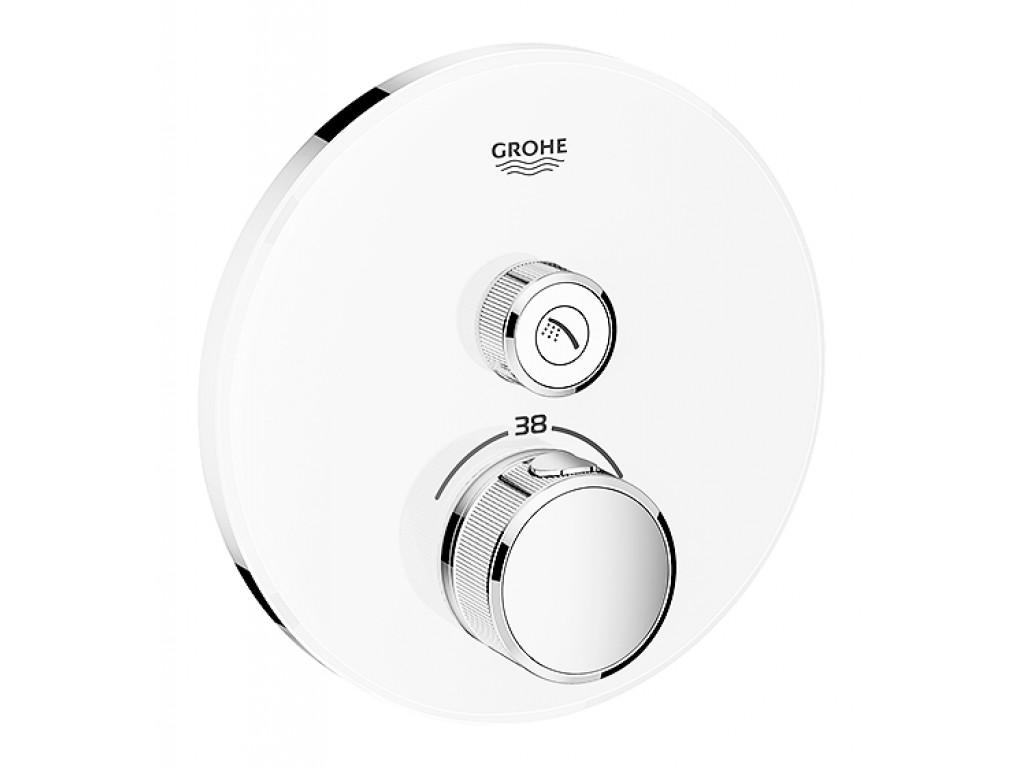 Grohtherm SmartControl Tek ventilli akış kontrollu, divar ici termostatik duş qarışdırıcısı