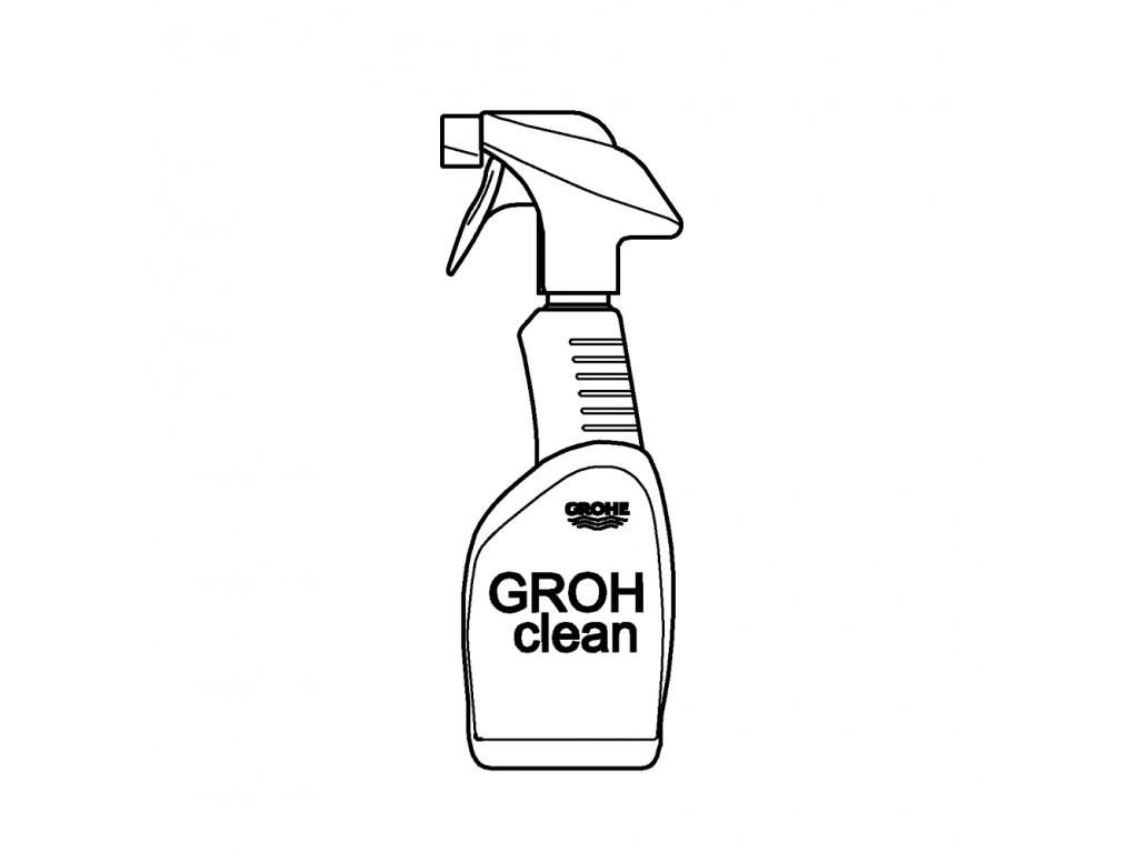 GROHclean hamam qarışdırıcıları için temizlik malzemesi