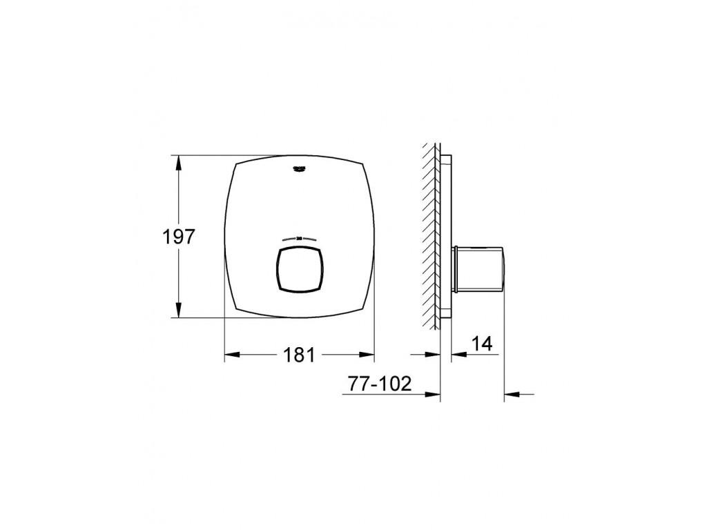 Grandera Merkezi termostatik kumanda