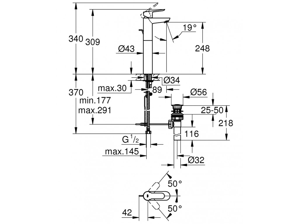 BauEdge   çanaq qarışdırıcısı  XL-ölcü