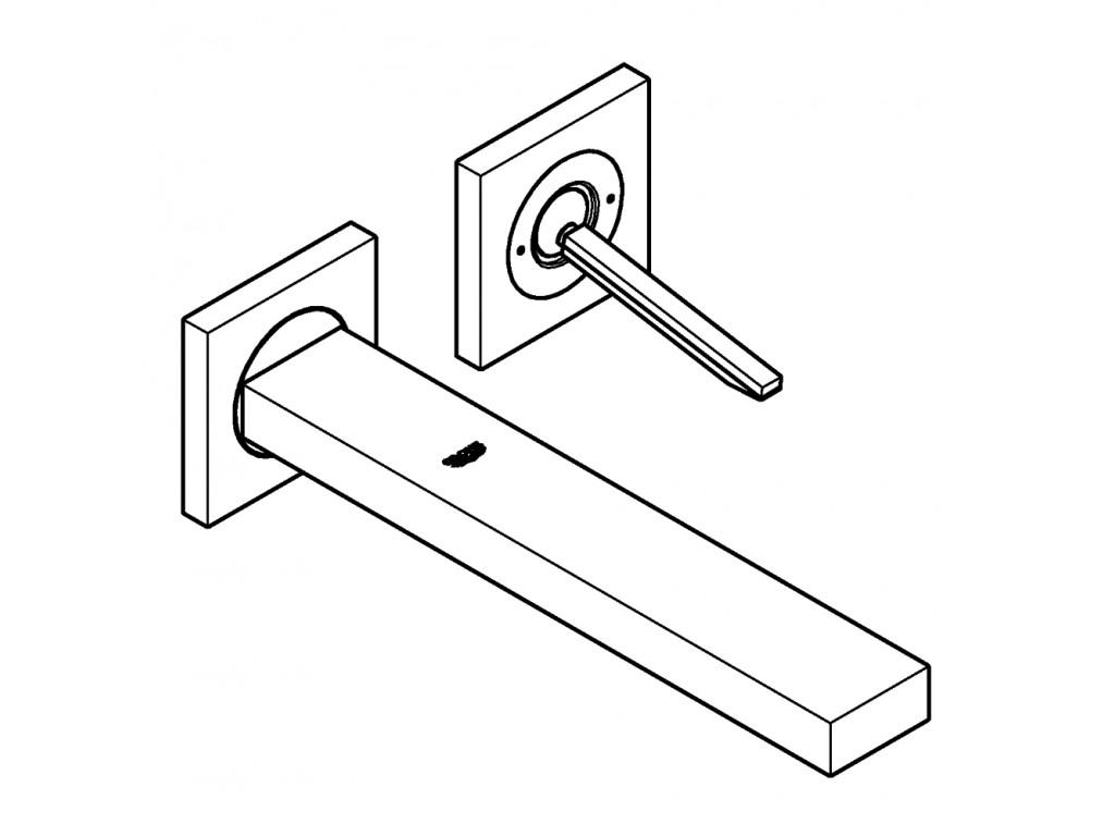 Eurocube Joy İki dəlikli çanaq qarışdırıcısı L-ölcü