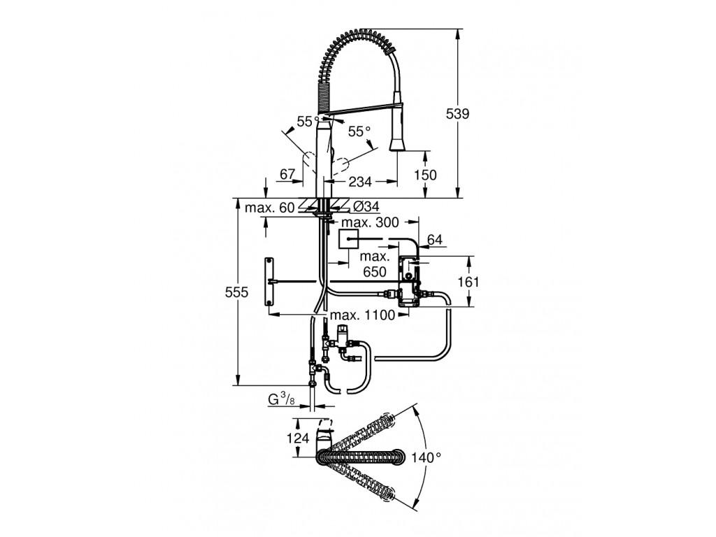 K7 Foot Control Elektronik   mətbəx qarışdırıcısı