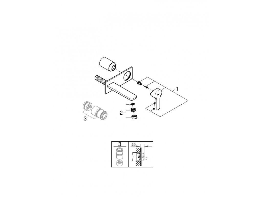 Lineare çanaq qarışdırıcısı M-ölcü