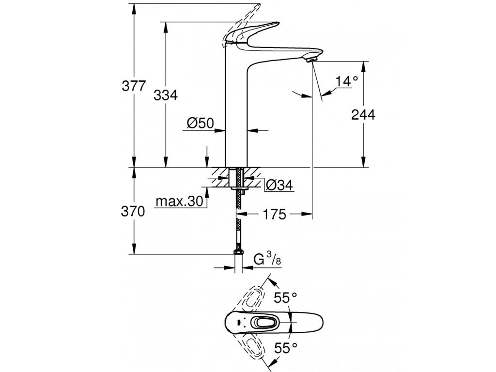 Eurostyle   çanaq qarışdırıcısı  XL-ölcü