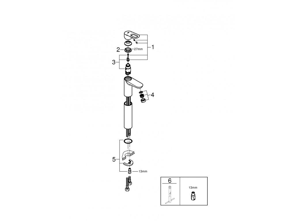 BauLoop   çanaq qarışdırıcısı  XL-ölcü