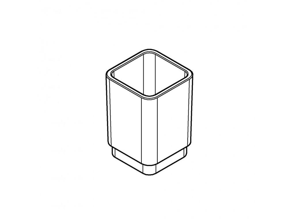 Selection Cube fırca qabı
