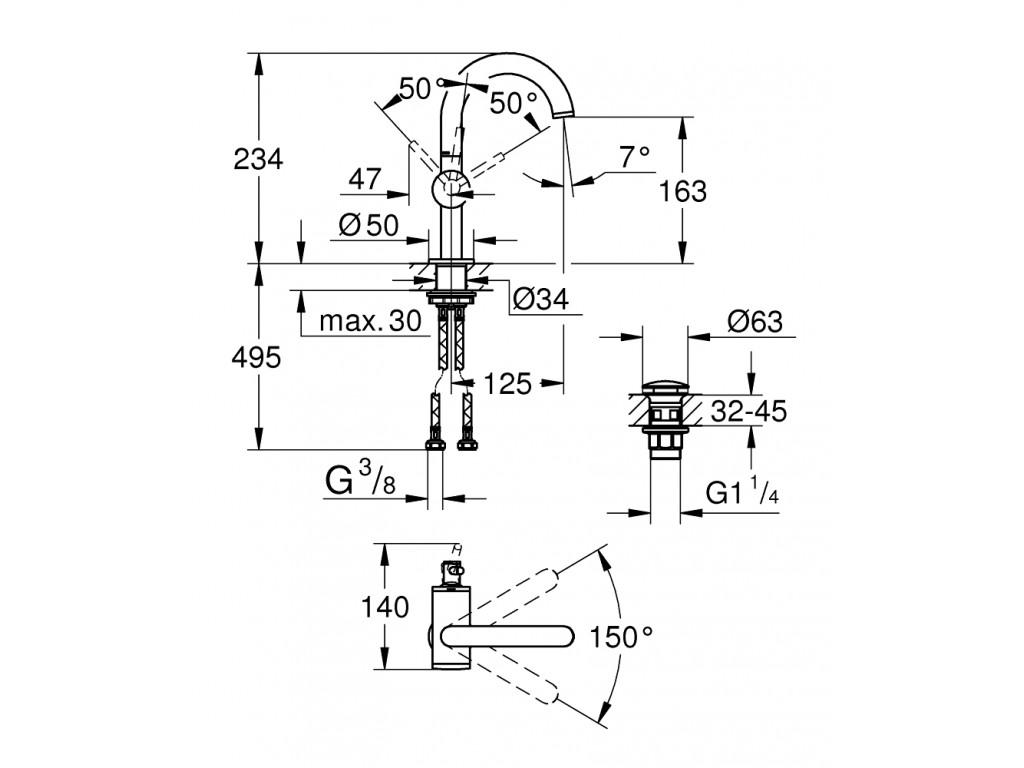 Atrio   çanaq qarışdırıcısı  M-ölcü