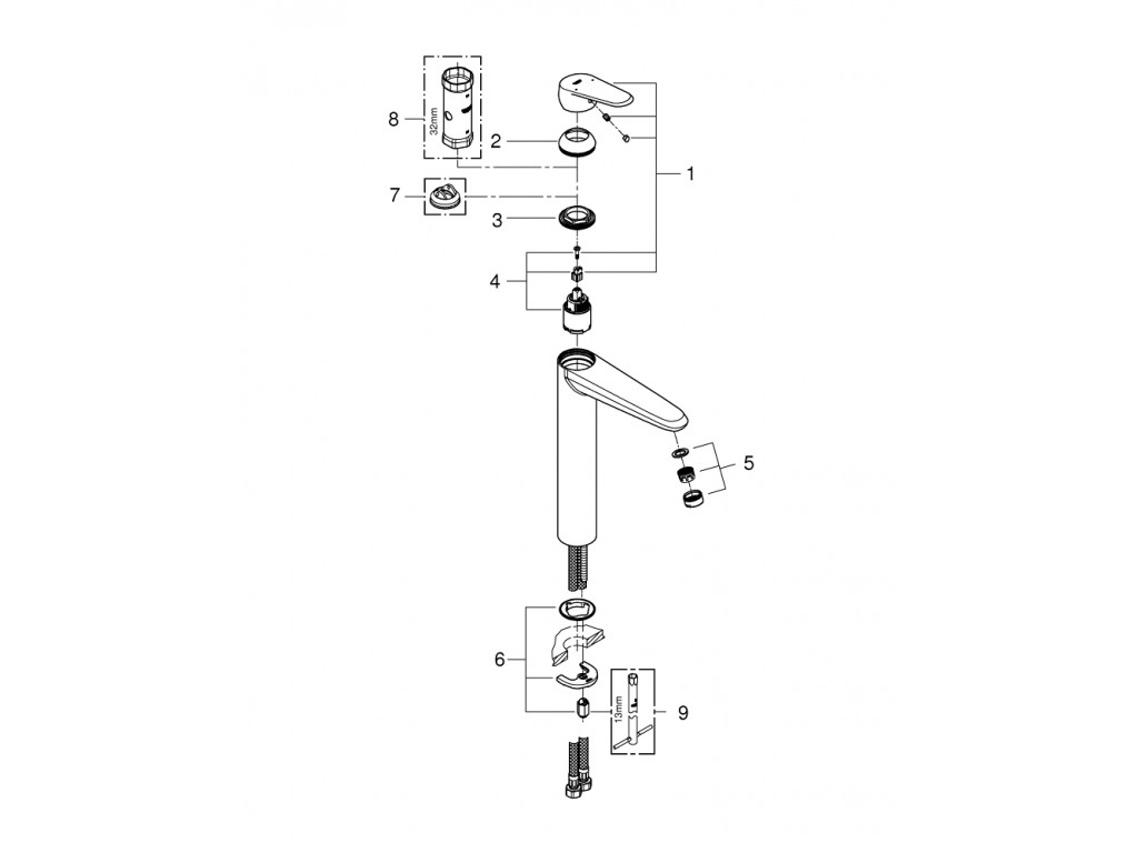 Eurodisc Cosmopolitan   çanaq qarışdırıcısı  XL-ölcü
