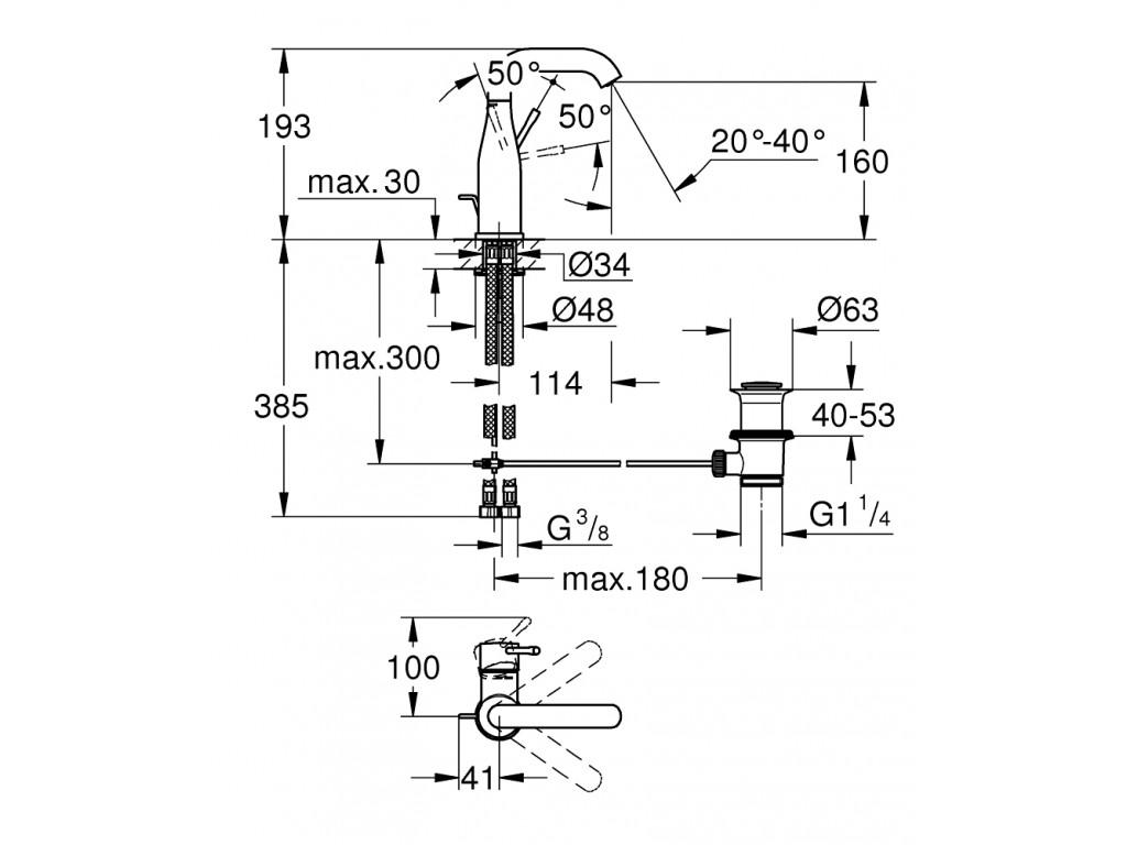 Essence   çanaq qarışdırıcısı  M-ölcü