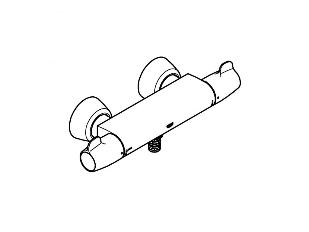 Grohtherm Special Termostatik çanaq qarışdırıcısı 1/2