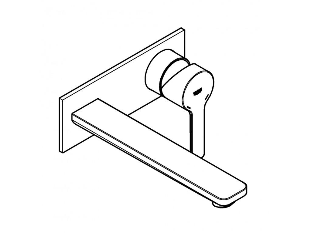 Lineare İki dəlikli çanaq qarışdırıcısı L-ölcü