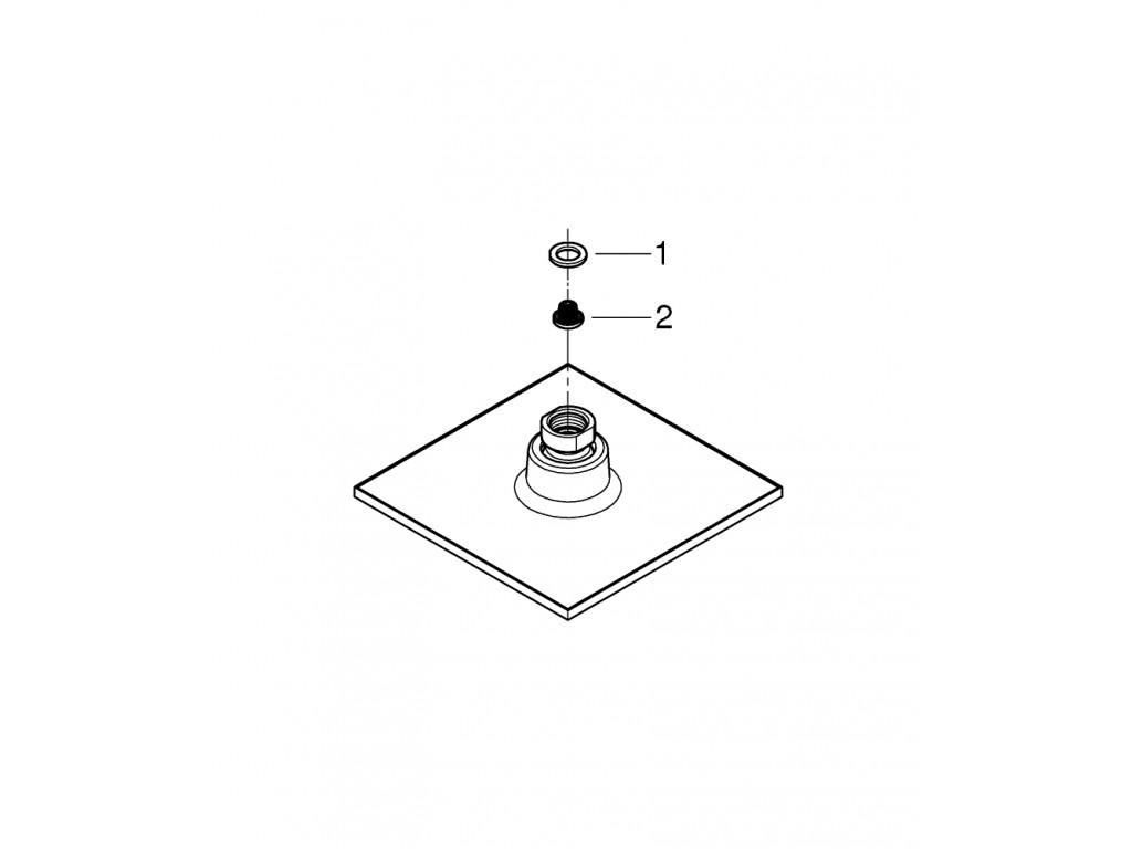 Euphoria Cube 150 Təpə duşu 1 akışlı