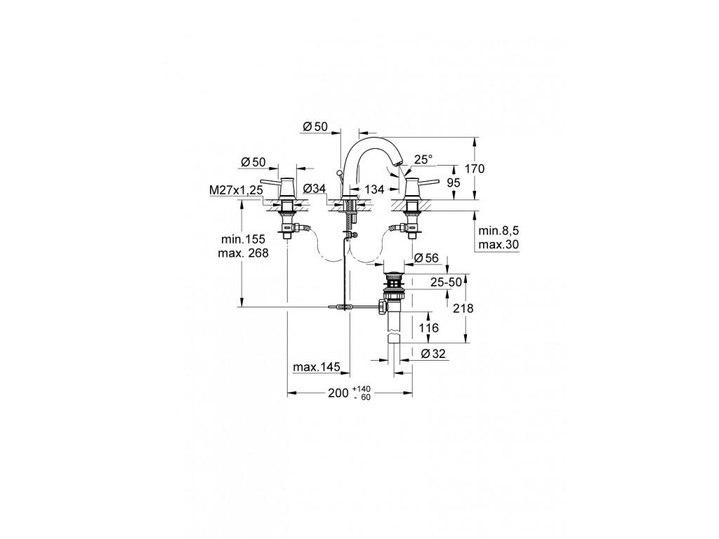 BauClassic 3 dəlikli çanaq qarışdırıcısı
