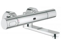 Eurosmart Cosmopolitan E divardan, Fotoselli ve termostatik  sıcaklık kontrollu çanaq qarışdırıcısı