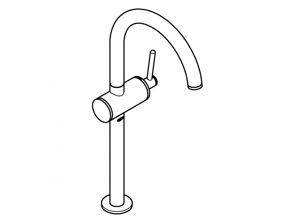 Atrio   çanaq qarışdırıcısı  XL-ölcü