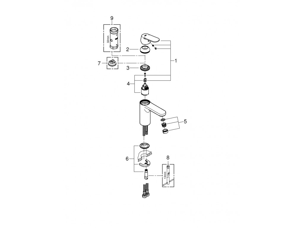 Eurocosmo   çanaq qarışdırıcısı  M-ölcü