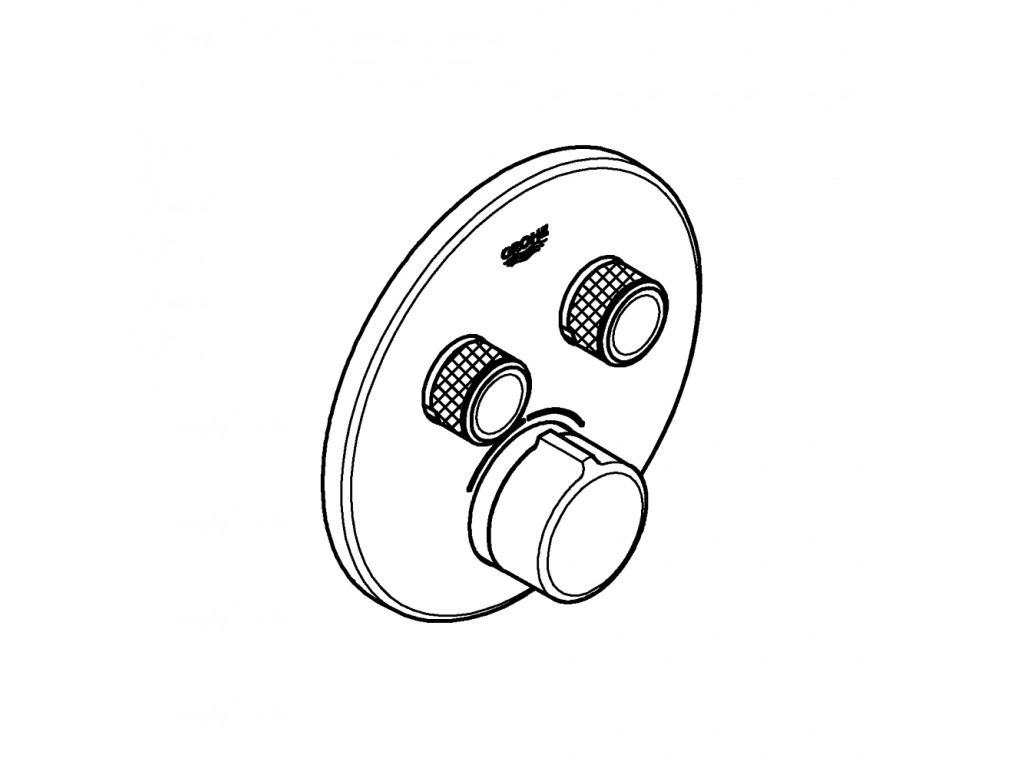 SmartControl cüt ventilli akış kontrollu divar ici duş qarışdırıcısı