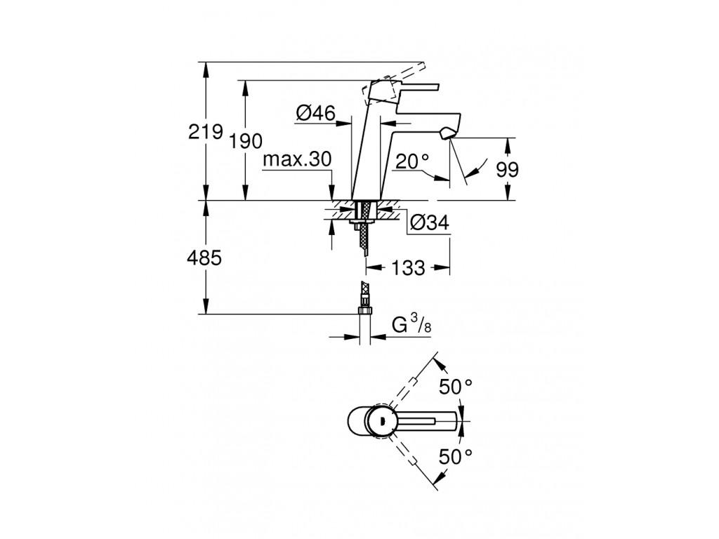 Concetto   çanaq qarışdırıcısı  M-ölcü