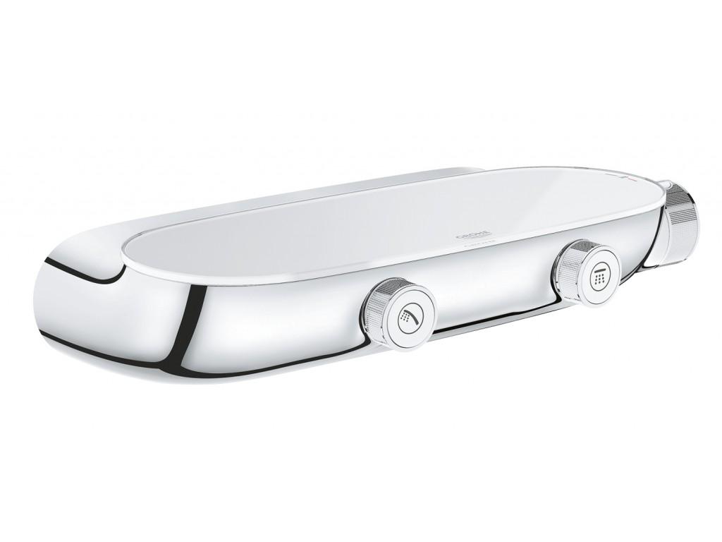 Grohtherm SmartControl cüt yollu yön değiştiricili, termostatik duş qarışdırıcısı, açık/gizli