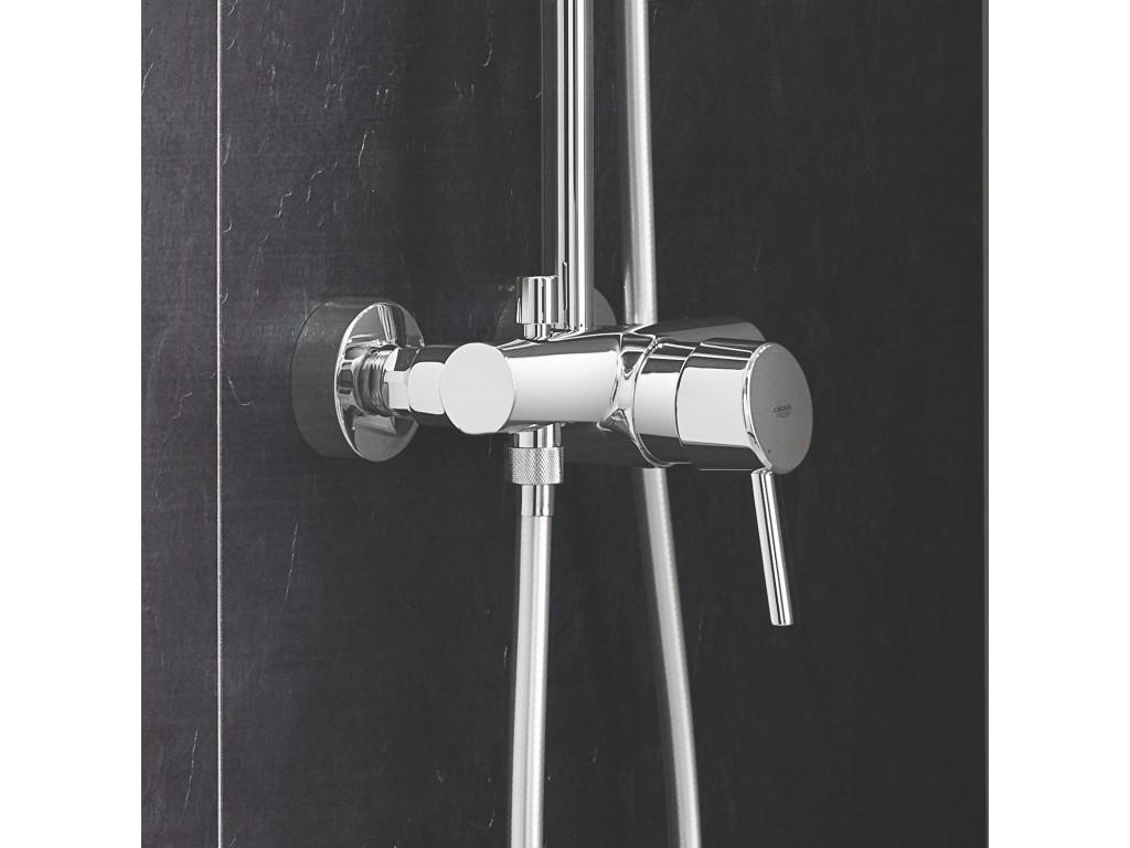 Euphoria Concetto divara montaj   qarışdırıcılı duş sistemi