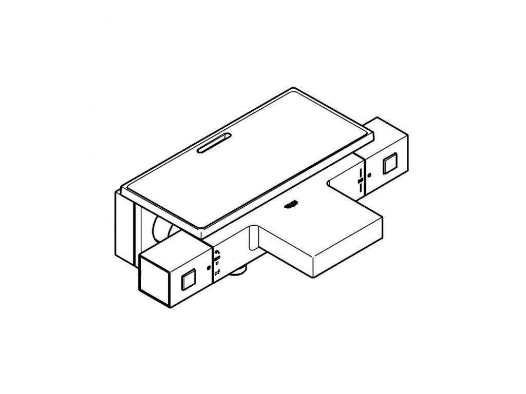 Grohtherm Cube Termostatik hamam qarışdırıcısı