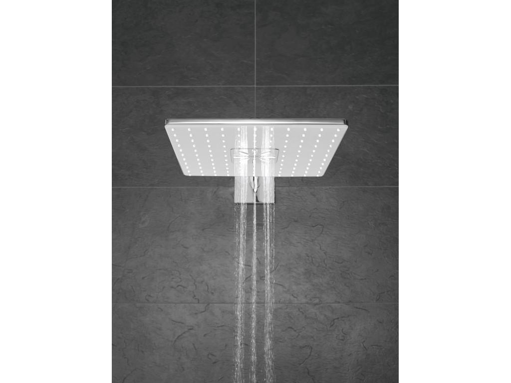 Rainshower SmartActive 310 Cube Təpə duşu seti 430 mm, 2 akışlı