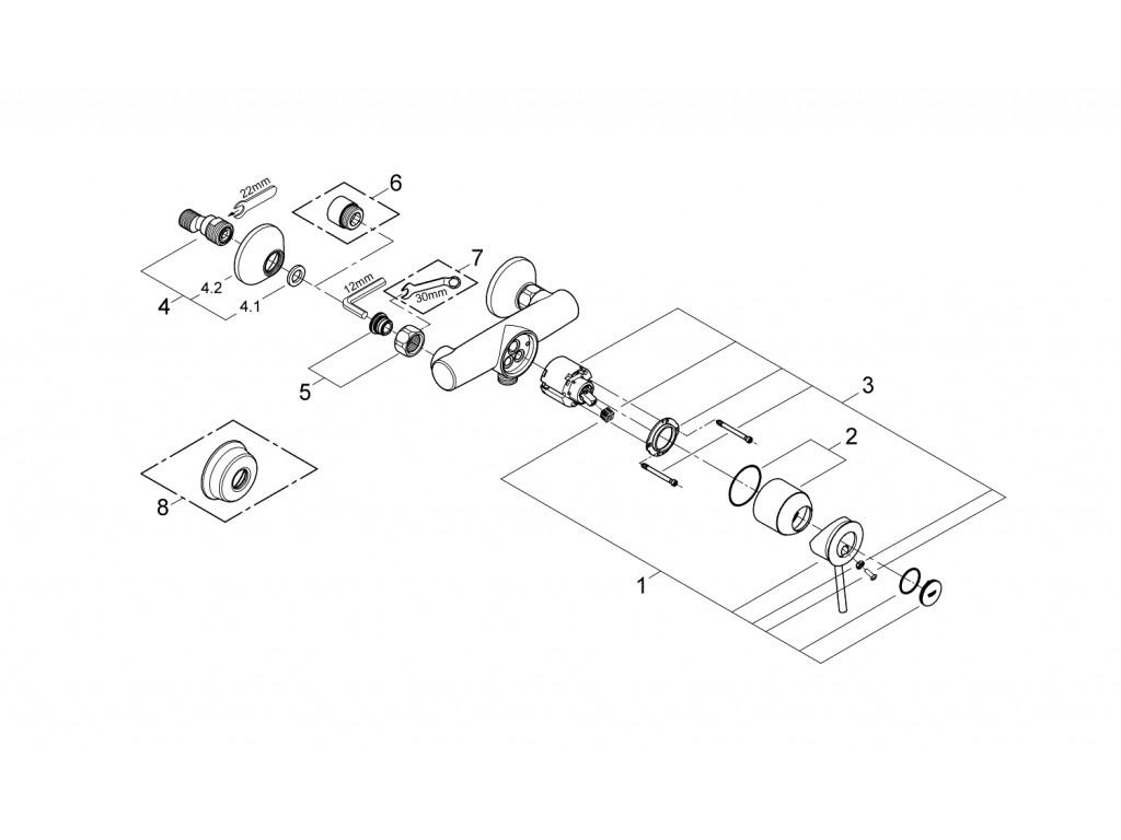 BauClassic   duş qarışdırıcısı