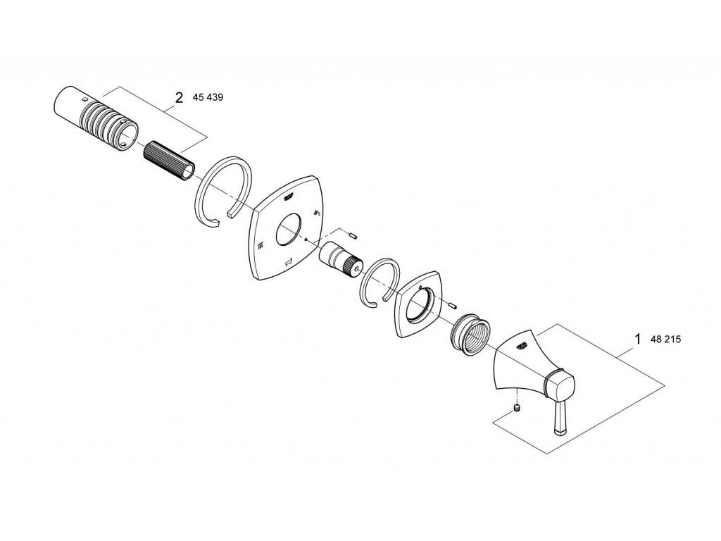 Grandera 5 yollu yön değiştirici (3 çıkış kontrolü sağlar)