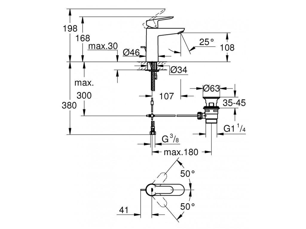 BauEdge   çanaq qarışdırıcısı  M-ölcü