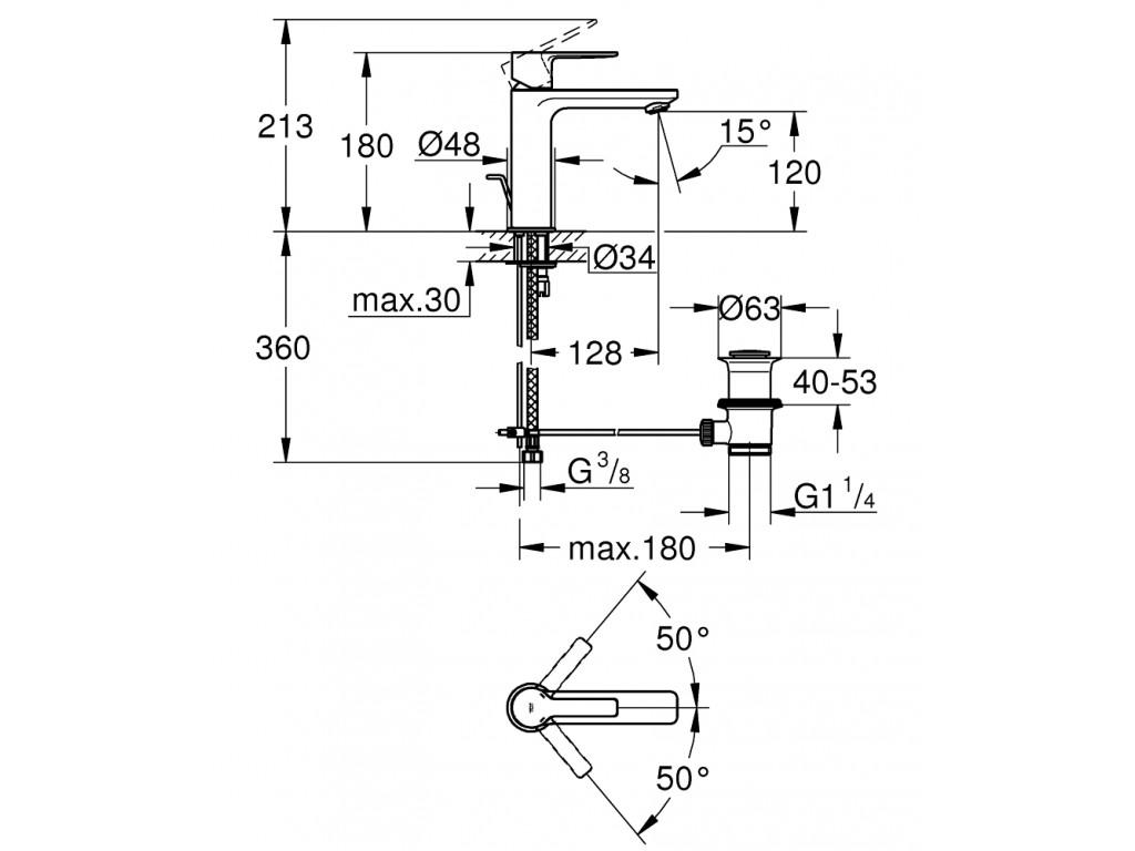 Lineare   çanaq qarışdırıcısı  S-ölcü