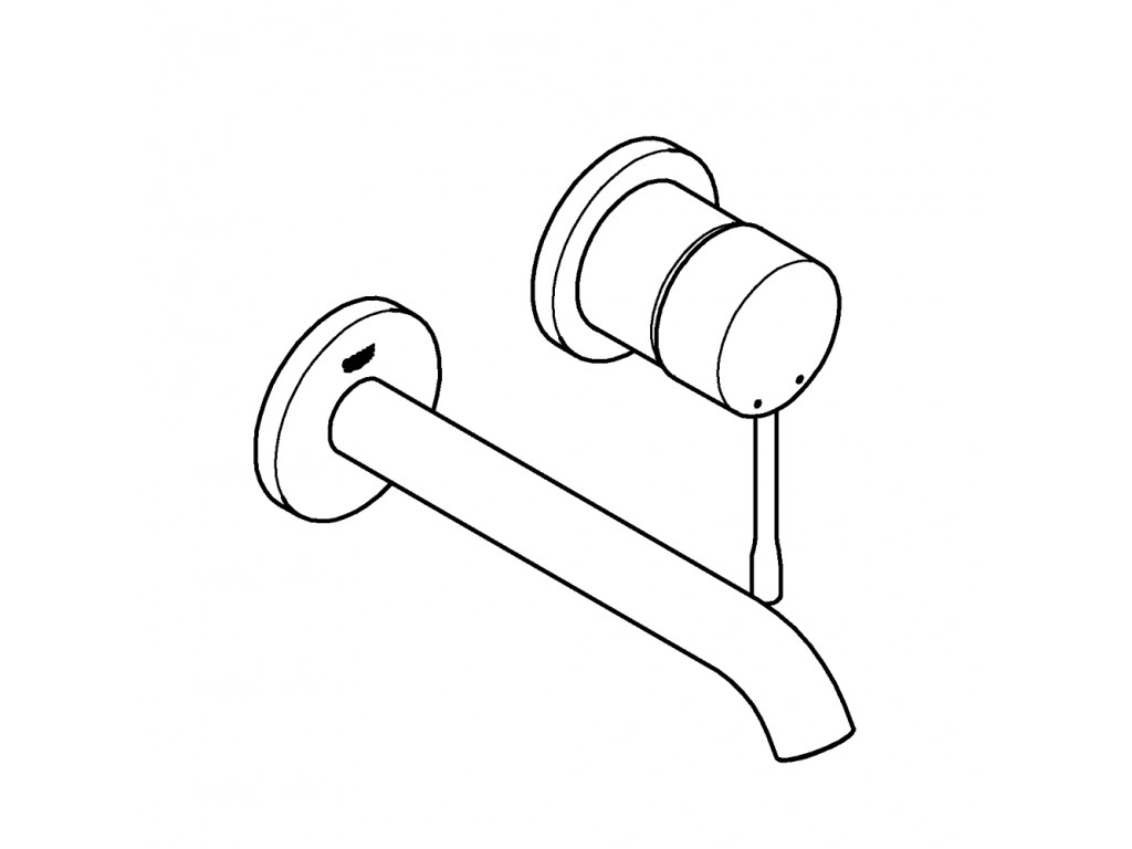 Essence İki dəlikli çanaq qarışdırıcısı M-ölcü