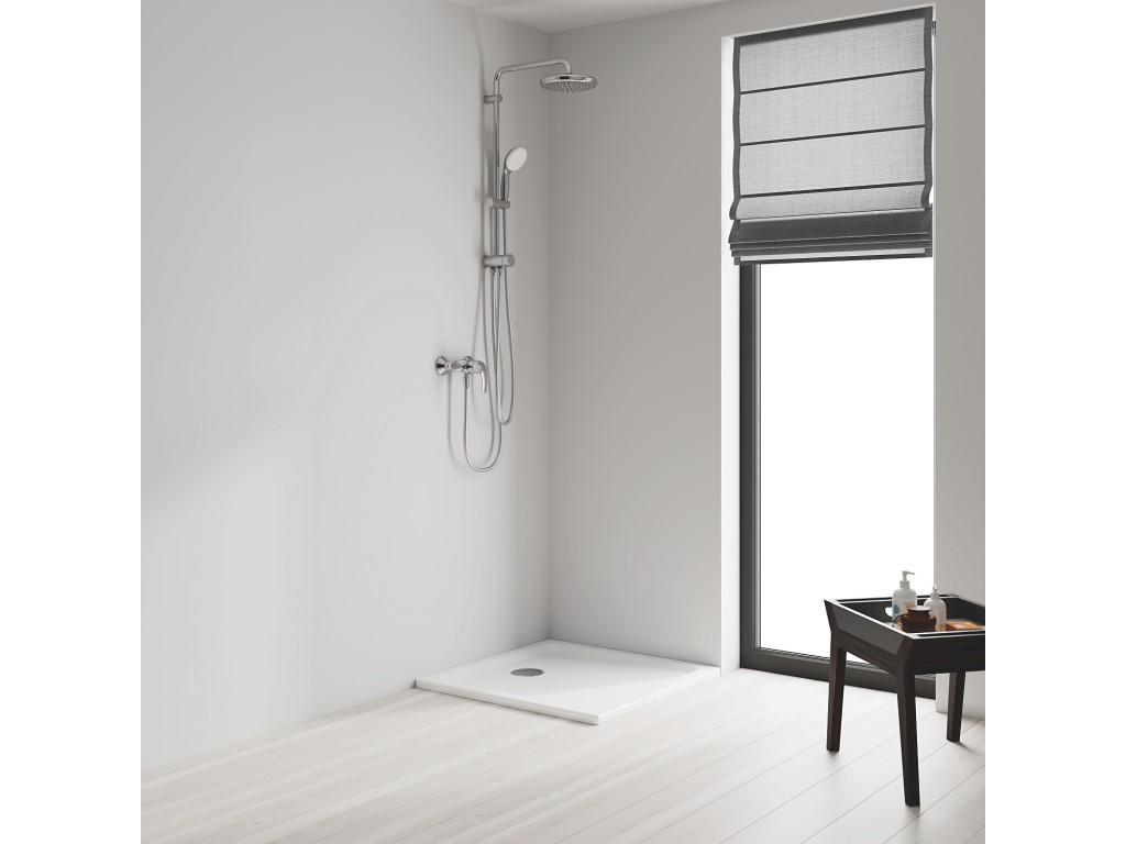 Tempesta System 210 divar bağlantılı, divertörlü duş sistemi