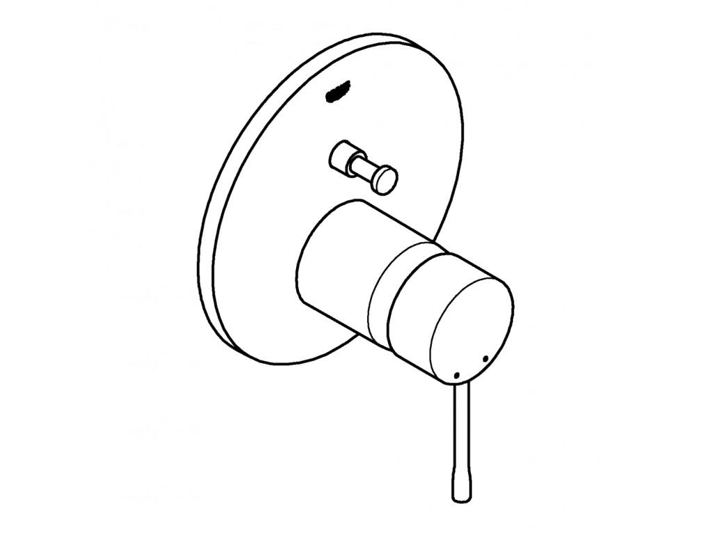Essence divar ici hamam/duş qarışdırıcısı
