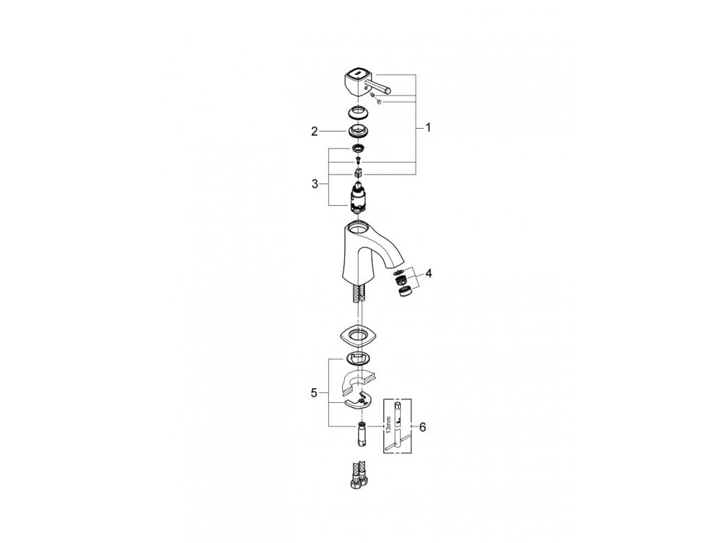 Grandera   çanaq qarışdırıcısı  M-ölcü