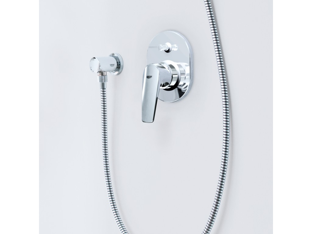 BauFlow divar ici hamam/duş qarışdırıcısı