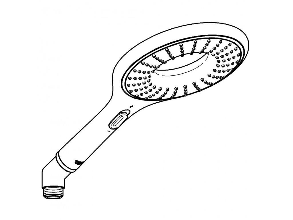 Rainshower Icon 150 Əl duşu 2 akışlı