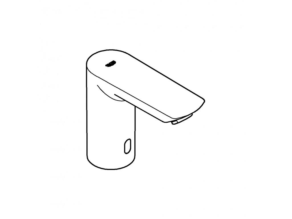 Bau Cosmopolitan E Fotoselli çanaq qarışdırıcısı, tek su girişli